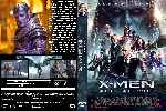 carátula dvd de X-men - Apocalipsis - Custom - V2
