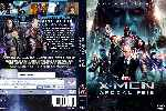 carátula dvd de X-men - Apocalipsis - Custom - V3