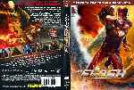 carátula dvd de The Flash - 2014 - Temporada 03 - Custom - V2