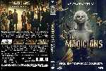 carátula dvd de The Magicians - Temporada 02 - Custom - V2
