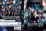 carátula dvd de X-men - Apocalipsis - Custom - V4