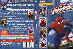 carátula dvd de Ultimate Spider-man - Coleccion - Custom