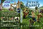 carátula dvd de Peter Rabbit - Custom