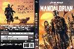 carátula dvd de The Mandalorian - Temporada 01 - Custom - V2
