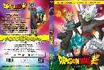 carátula dvd de Dragon Ball Super - La Saga De Trunks Del Futuro - Box 6 - Custom