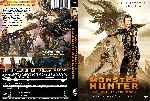 carátula dvd de Monster Hunter - La Caceria Comienza - Custom