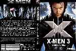 carátula dvd de X-men 3 - La Decision Final - Custom - V2
