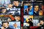 carátula dvd de 007 James Bond Coleccion - Pierce Brosnan - Custom - V2