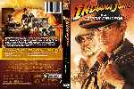 carátula dvd de Indiana Jones Y La Ultima Cruzada - Custom - V2
