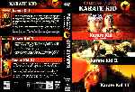carátula dvd de Karate Kid - 1984 - Trilogia - Custom - V3
