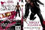 carátula dvd de Ninja Assassin - Custom - V2