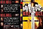 carátula dvd de Kill Bill - Volumen 1-2 - Custom - V5