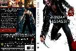 carátula dvd de Ninja Assassin - Custom - V8