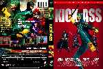 carátula dvd de Kick-ass - Custom - V5