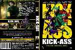 carátula dvd de Kick-ass - Custom - V6
