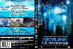 carátula dvd de Skyline - La Invasion - Custom - V2