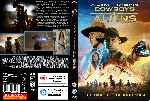 carátula dvd de Cowboys & Aliens - Custom - V8
