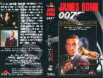 carátula vhs de James Bond Contra Goldfinger