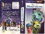 carátula vhs de Monsters Inc - Region 4