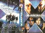 carátula vhs de X-men 2 - Region 4