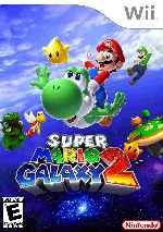 Carátula Wii De Super Mario Galaxy 2 Frontal V2