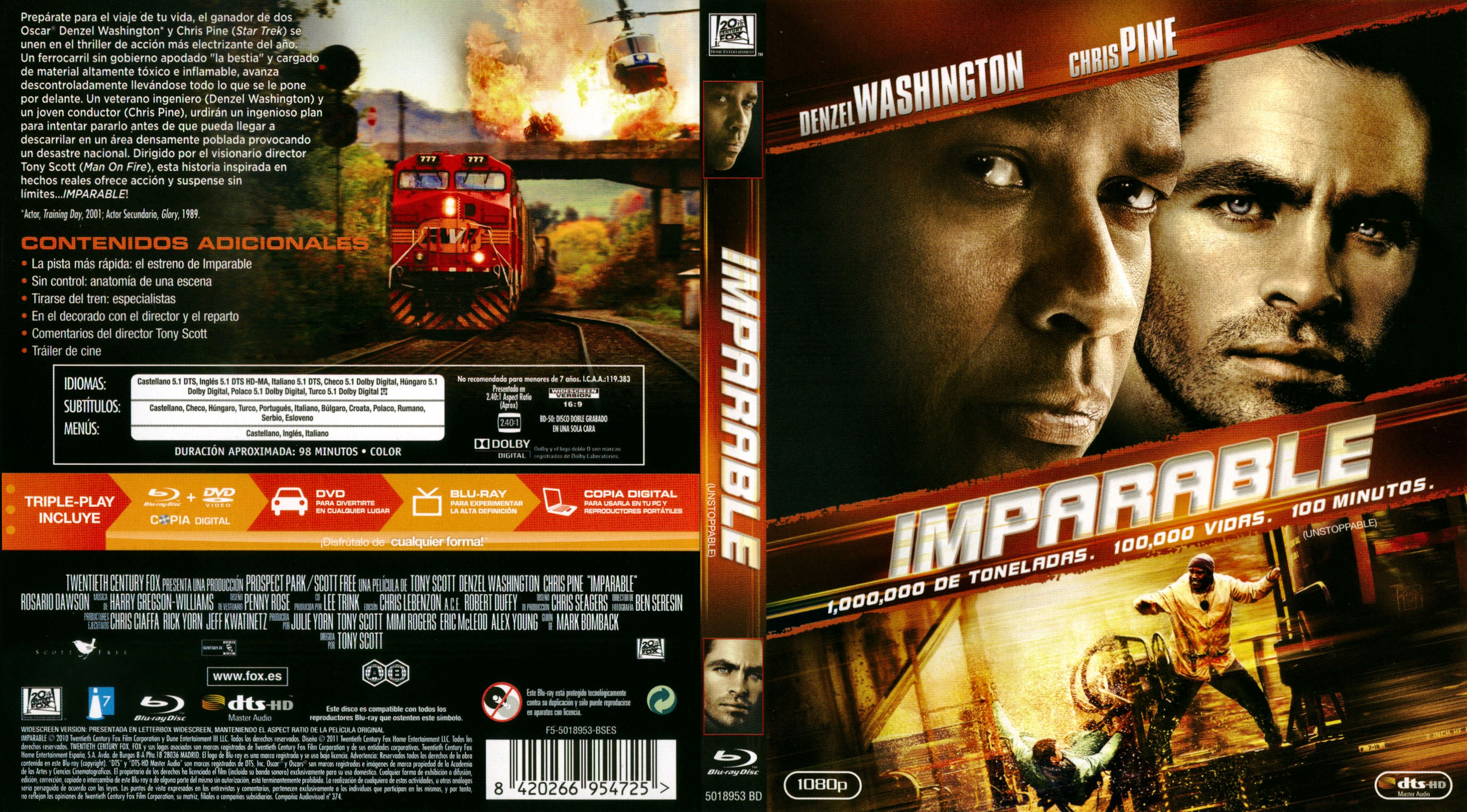 Imparable Unstoppable 1080p Identi