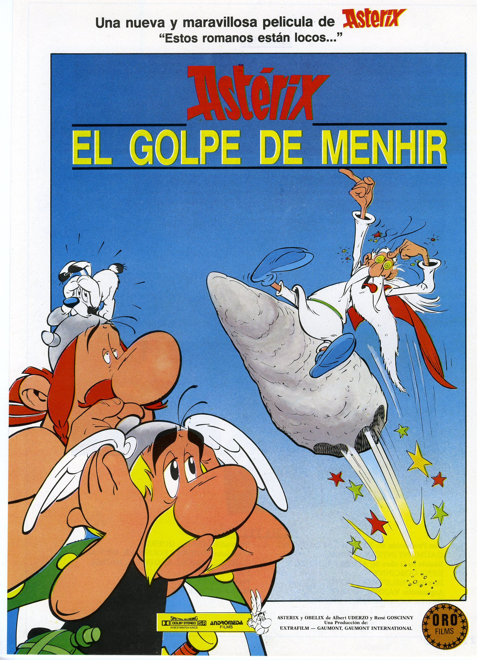 Astérix: El Golpe De Menhir (1989)