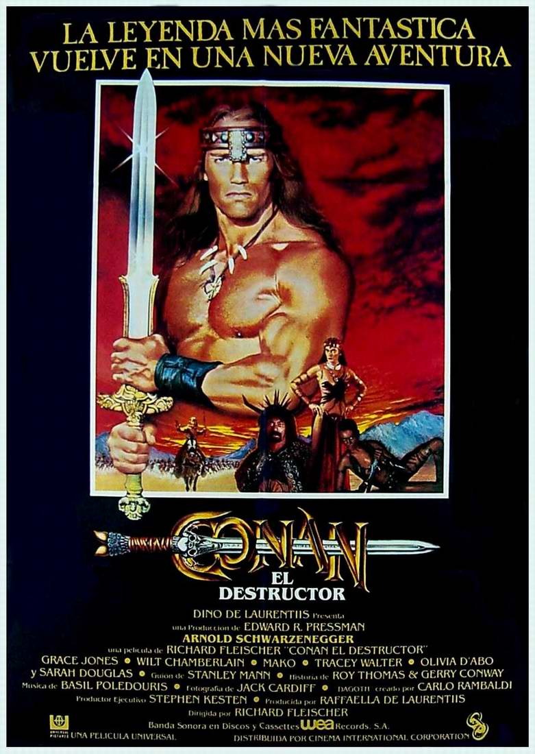 Conan, El Destructor (1984)