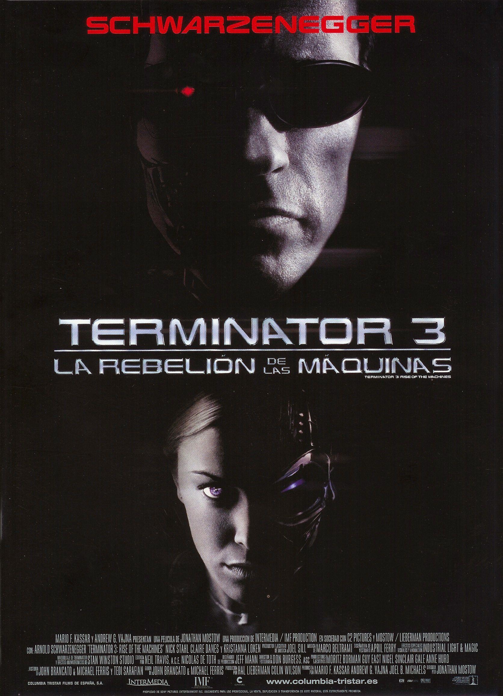 Terminator 3 – La Rebelión De Las Máquinas (2003)