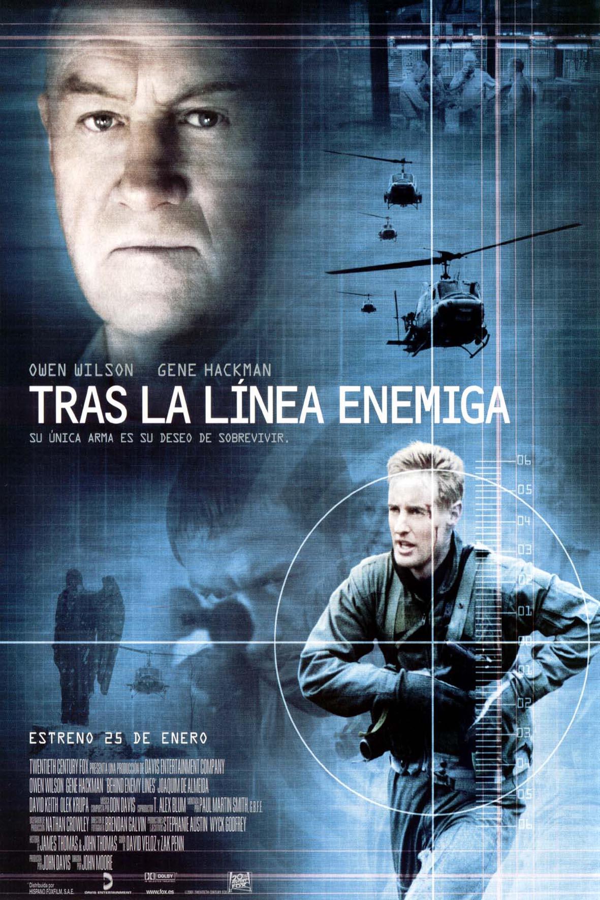 Tras La Línea Enemiga (2001)