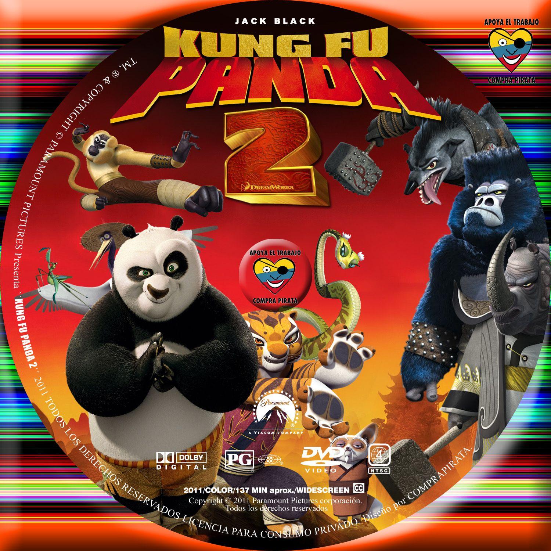 Kung Fu Panda 2 Dvd Cover caratulas: julio 2011