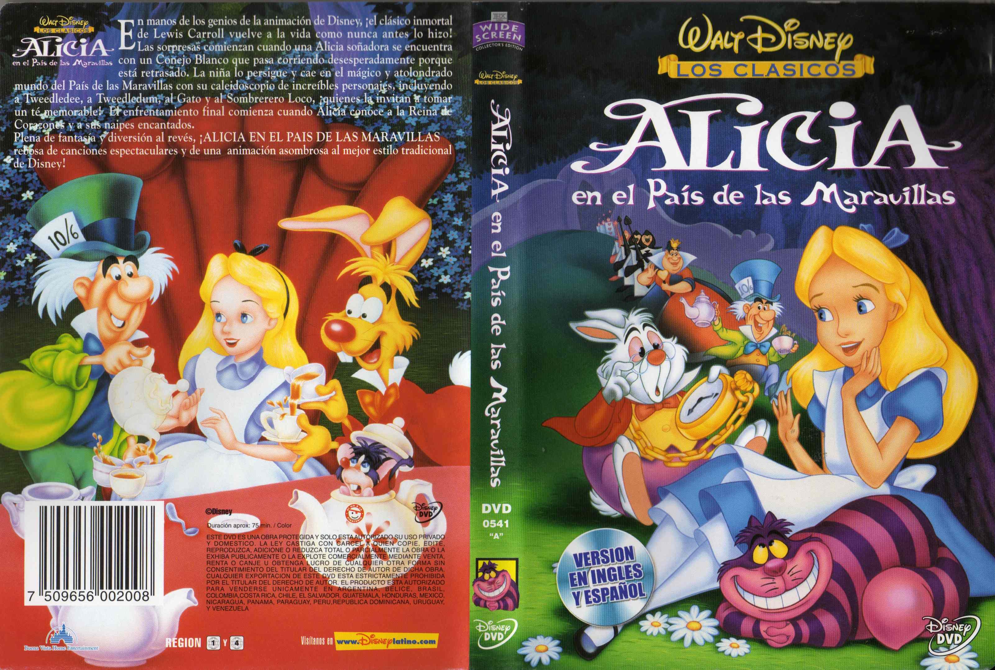 Alicia en el pais de las maravillas - 5 8