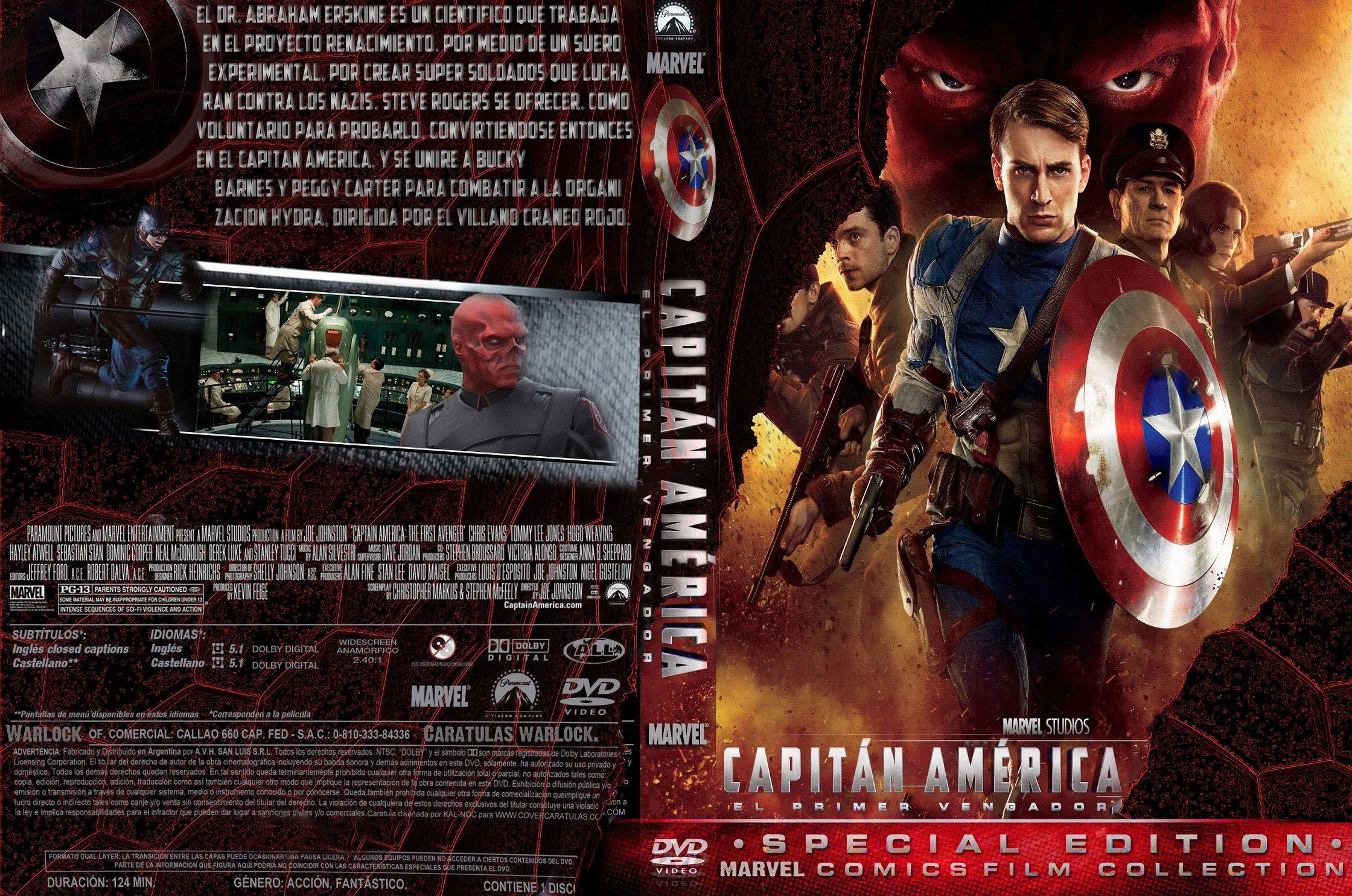 Capitán América: el primer vengador -2011-Mg.,Mf.y Sf.-