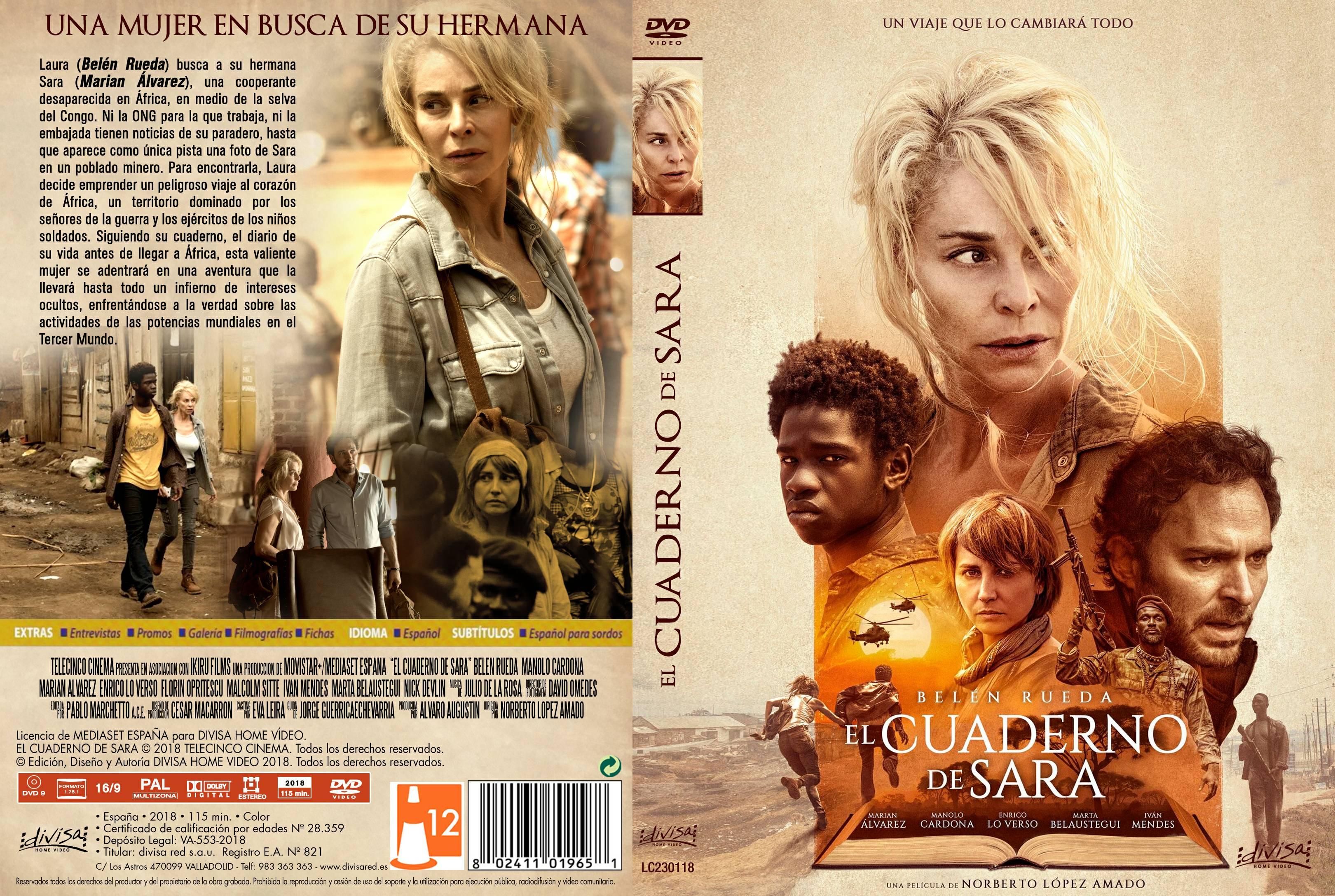 El Cuaderno De Sara Moviecaratulas