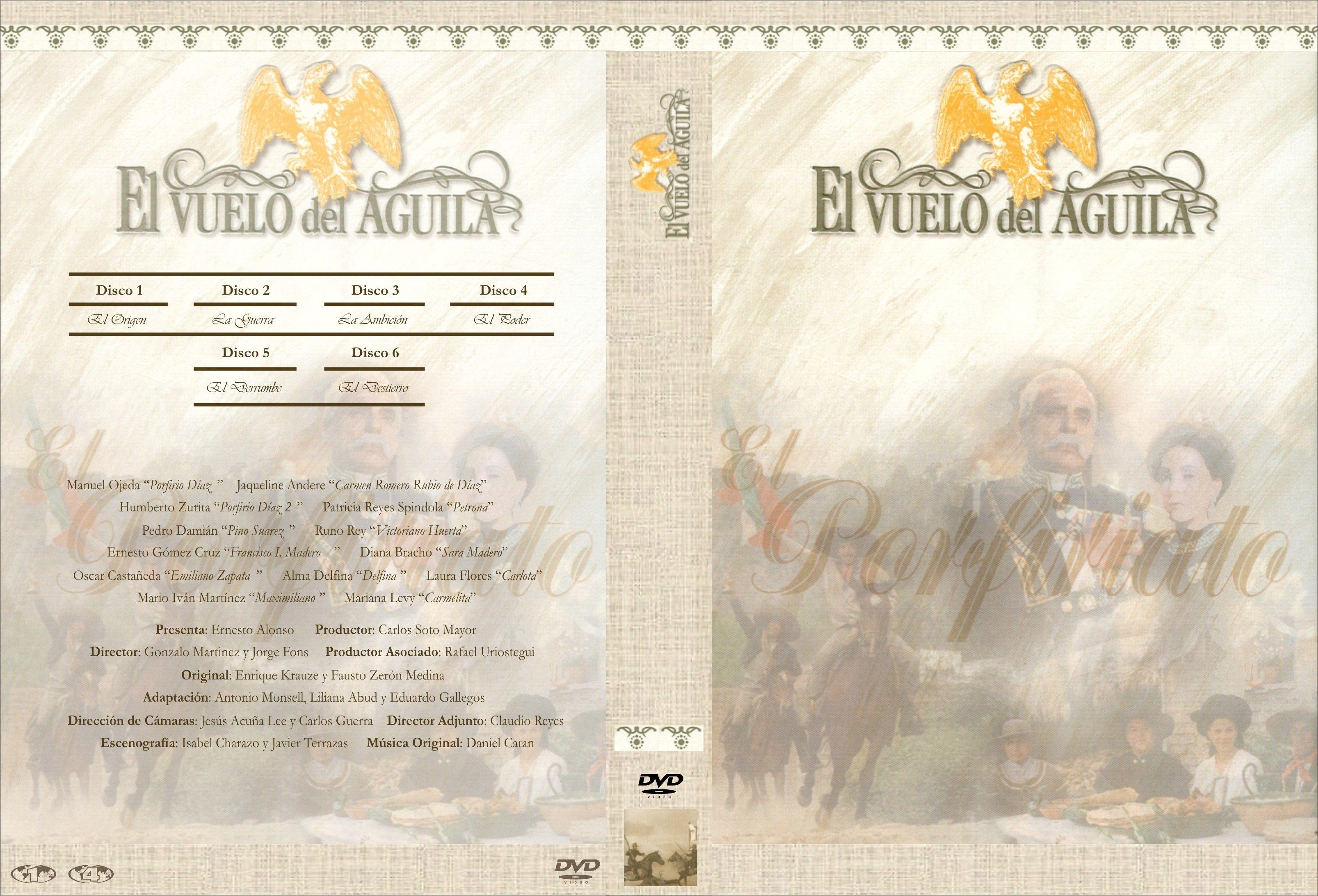 El vuelo del Águila [Primera Parte](1830-1915)(México-1994 ...