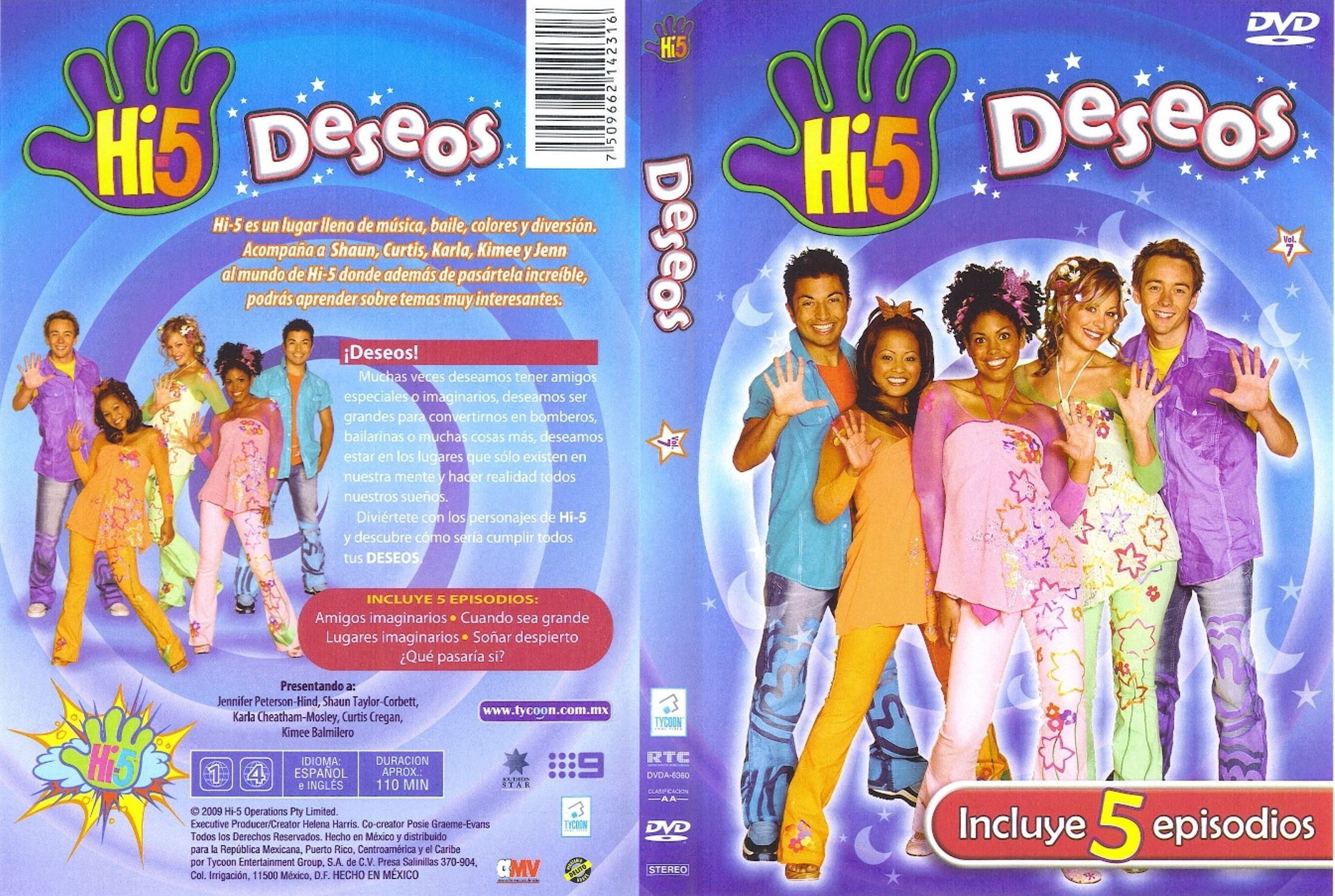 Cinco Sentidos Hi 5 Descargar Free Download