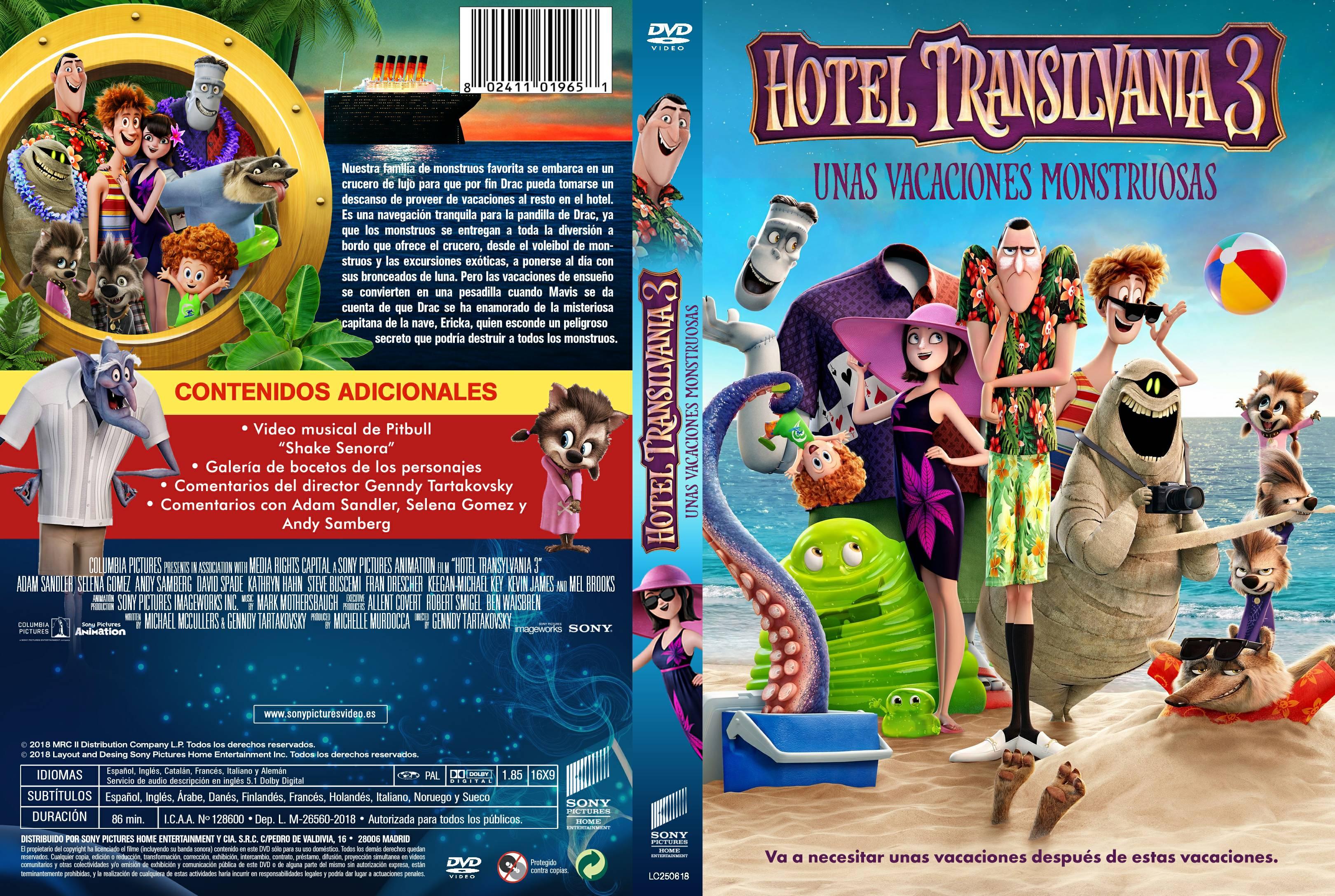 Hotel Transilvania3: Unas vacaciones monstruosas