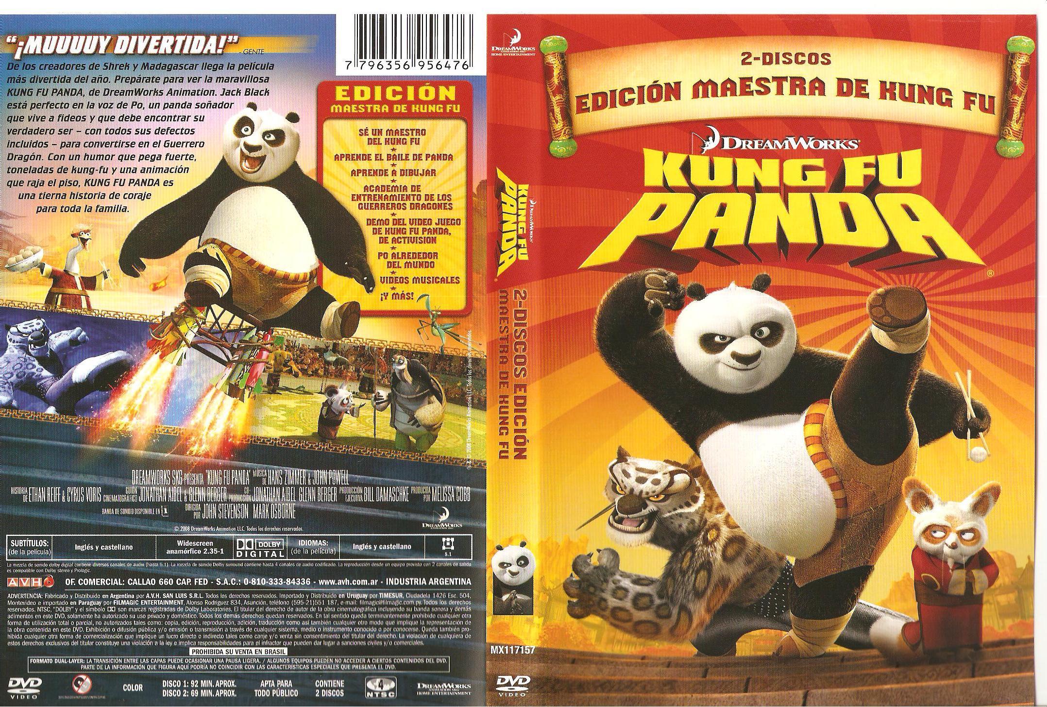 Kung Fu Panda 2 Dvd Cover Kung Fu Panda Dvd Cove...