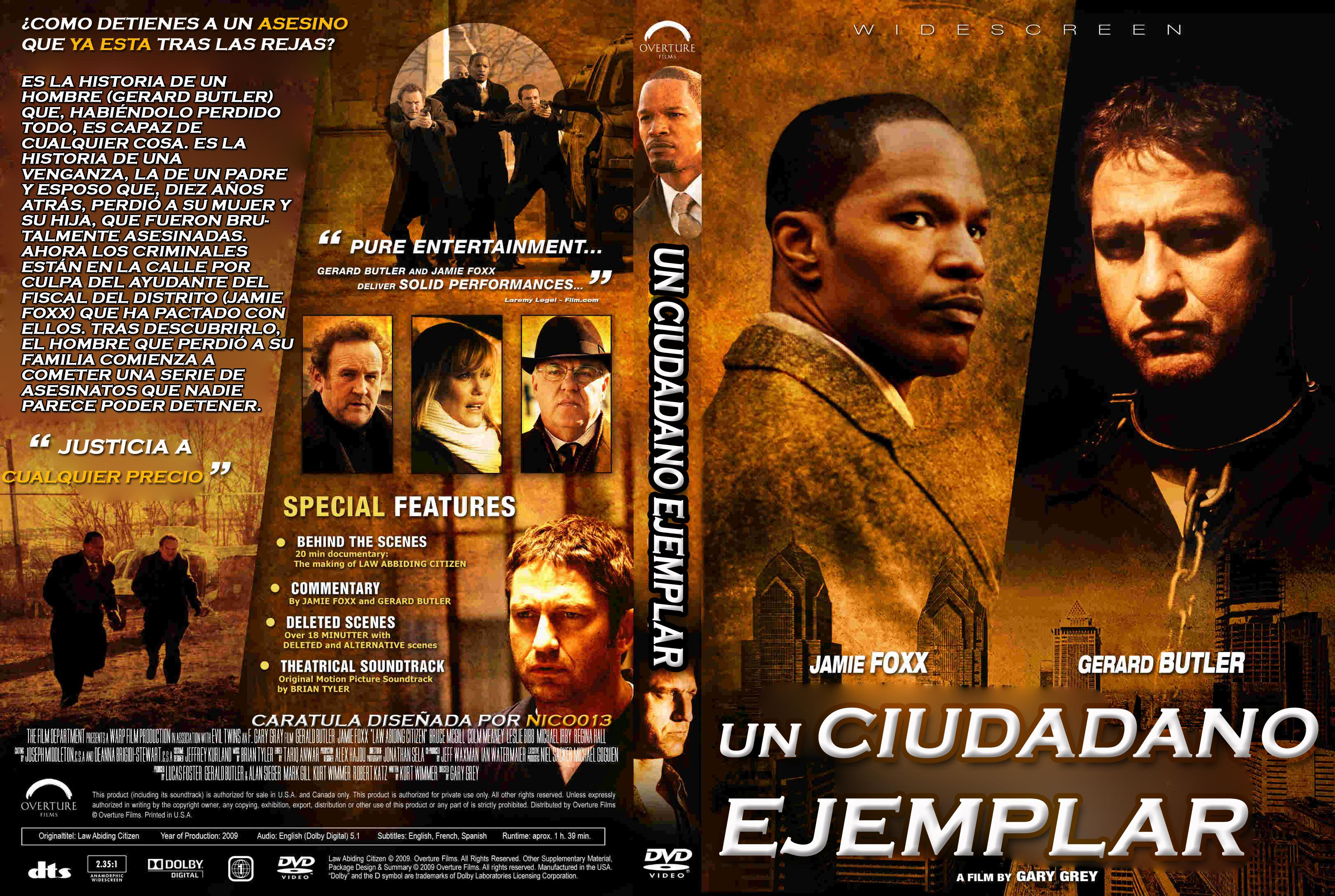 Ver Un ciudadano ejemplar Online Gratis en Español Latino