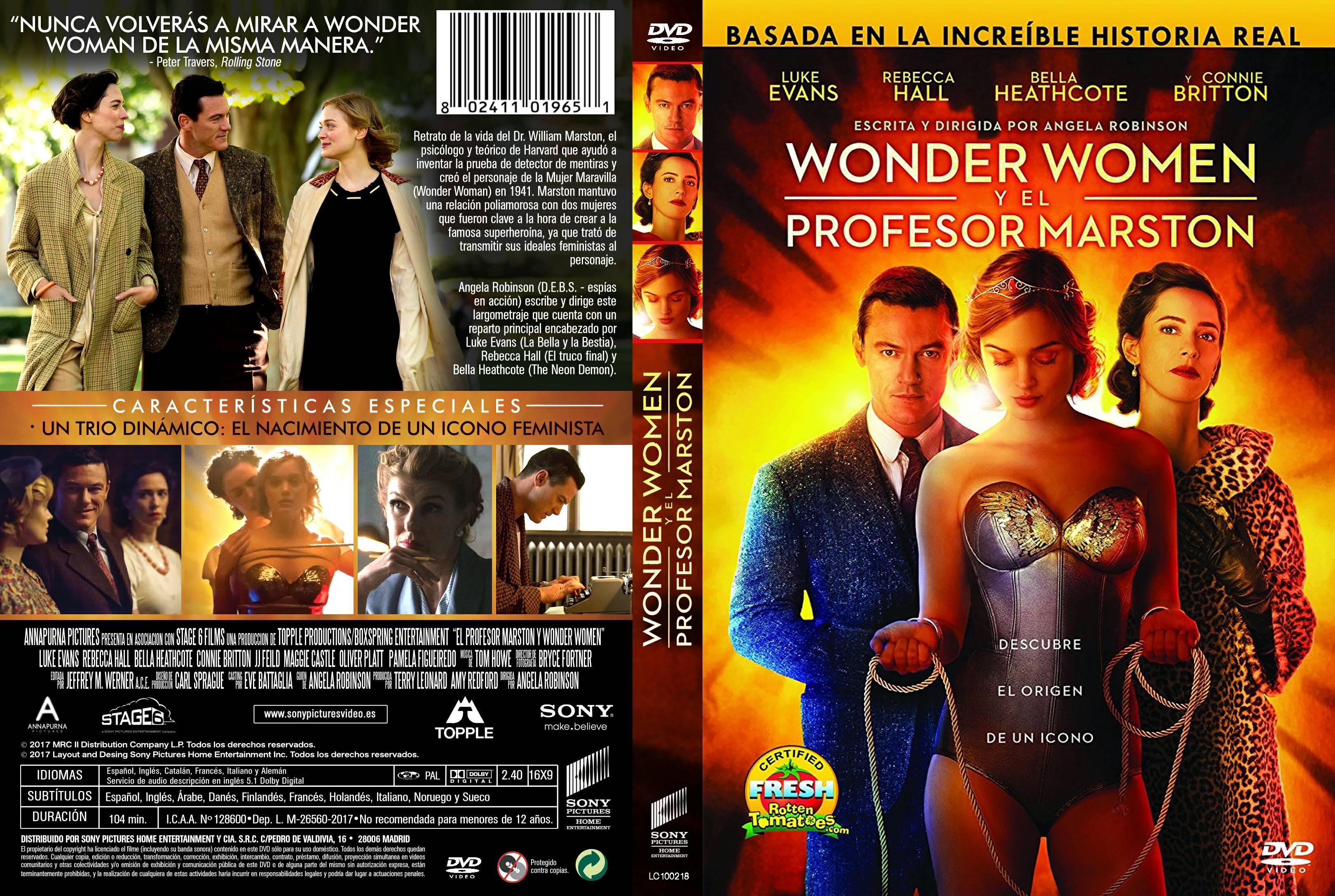 Wonder Women Y El Profesor Marston Moviecaratulas