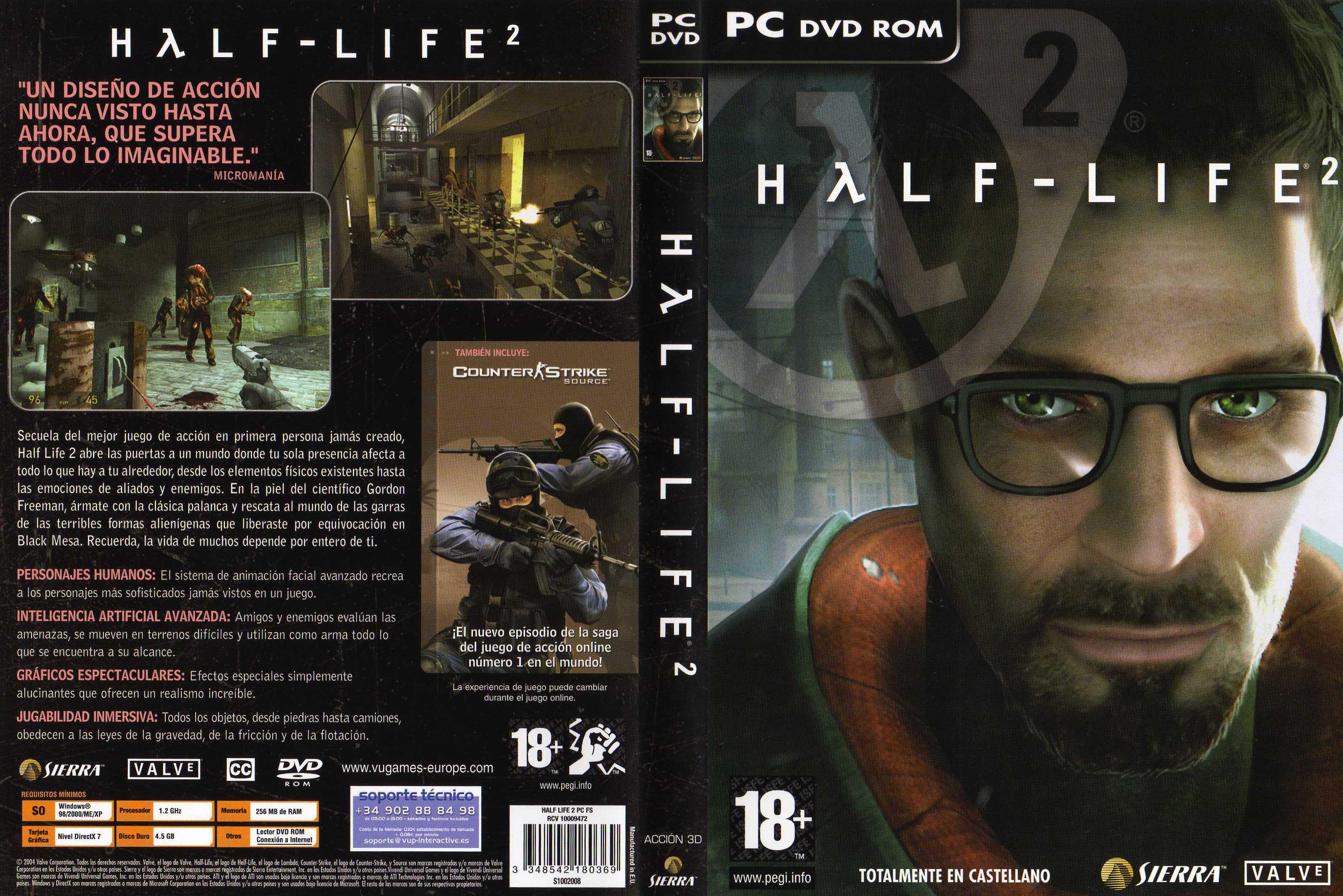 Half-Life 2 + Banda Sonora + Half-Life: Source [Full] [Español] [MF]