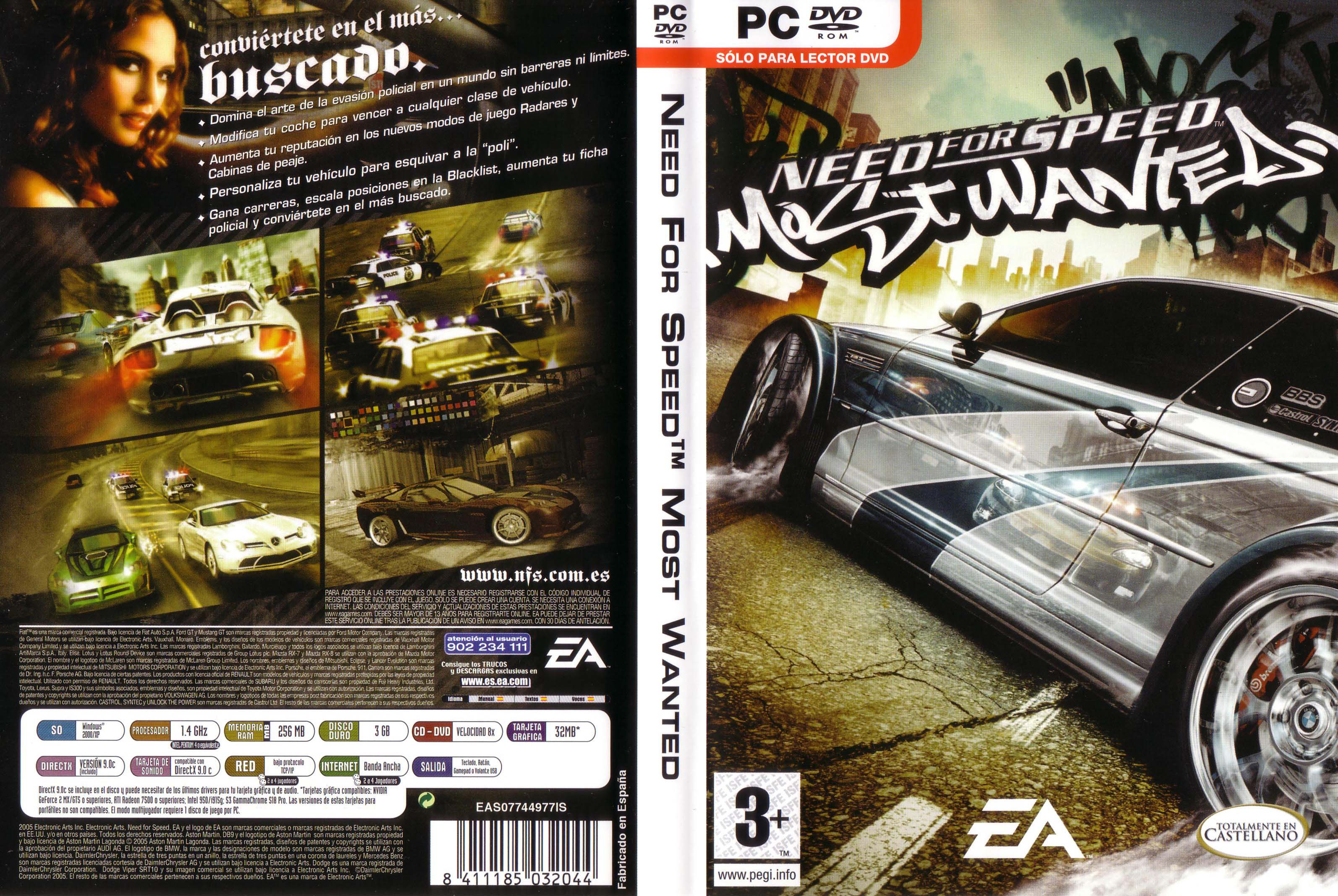 Need For Speed Most Wantedpara Pc Espanol Completo