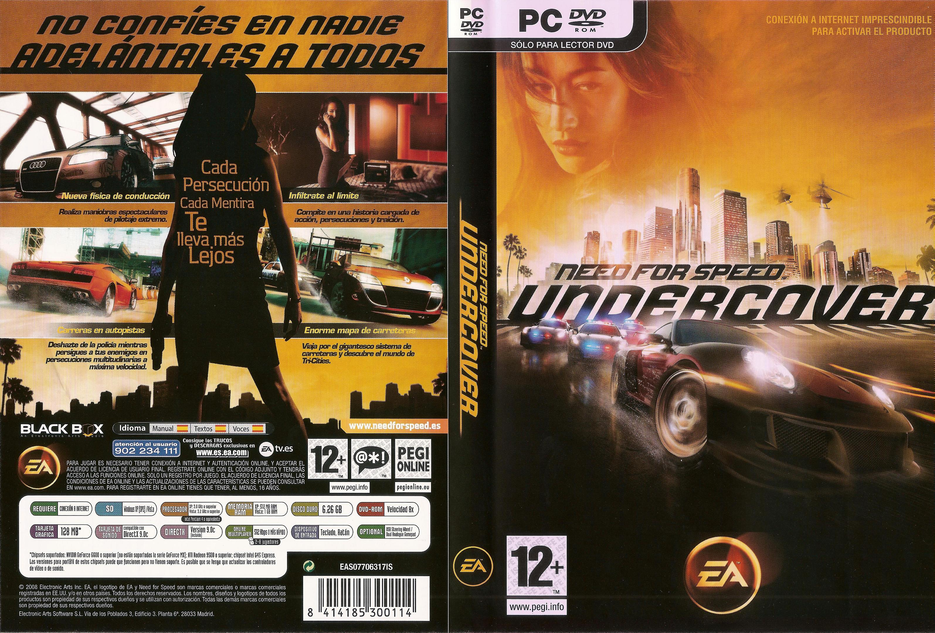 Need_For_Speed_-_Undercover_-_Dvd_por_Ravenous Cool Nfs Undercover Ps2 Porsche 911 Gt2 Cars Trend
