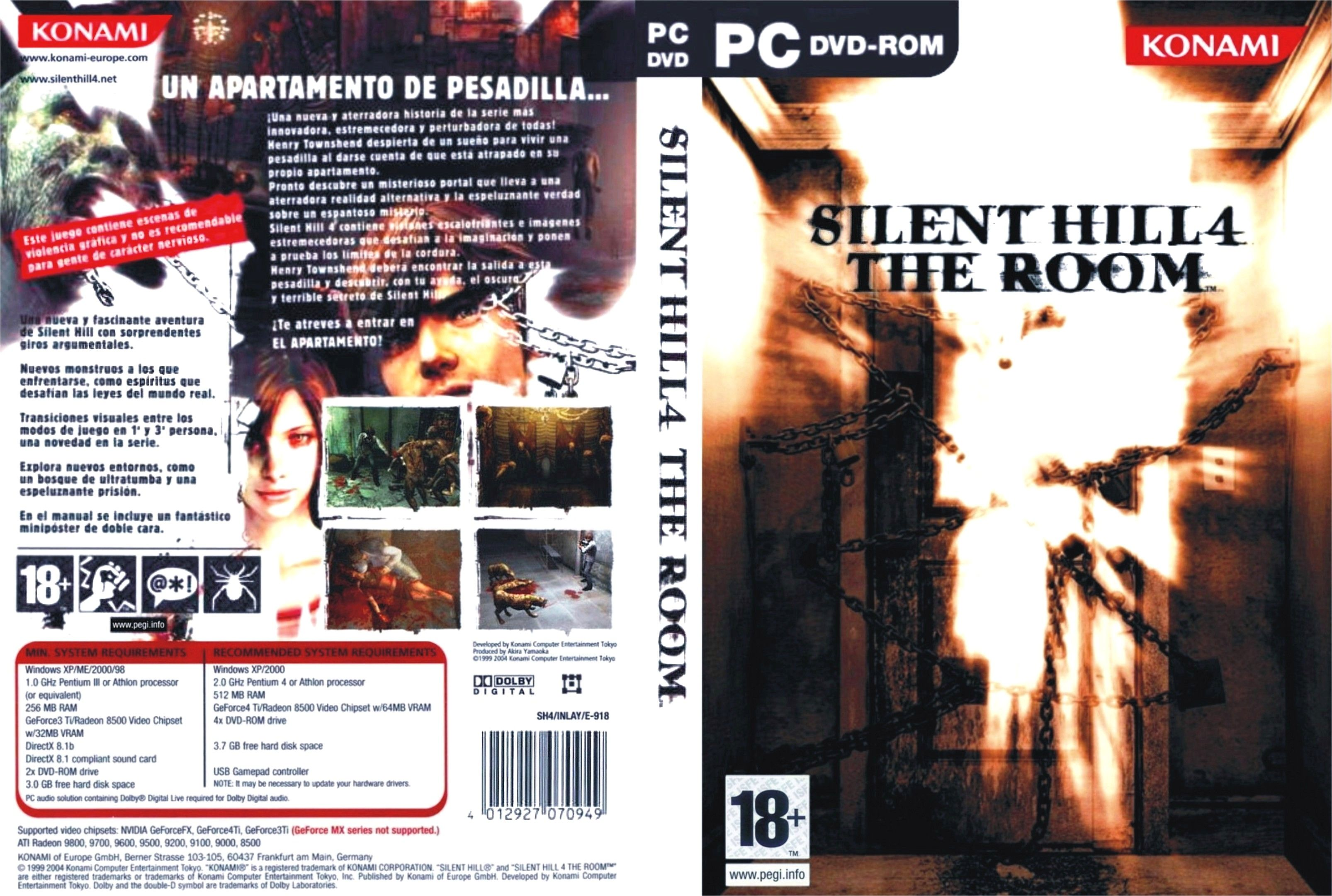Silent Hill 4: The Room [El apartamento] [Full] [Español] [MF-PL]