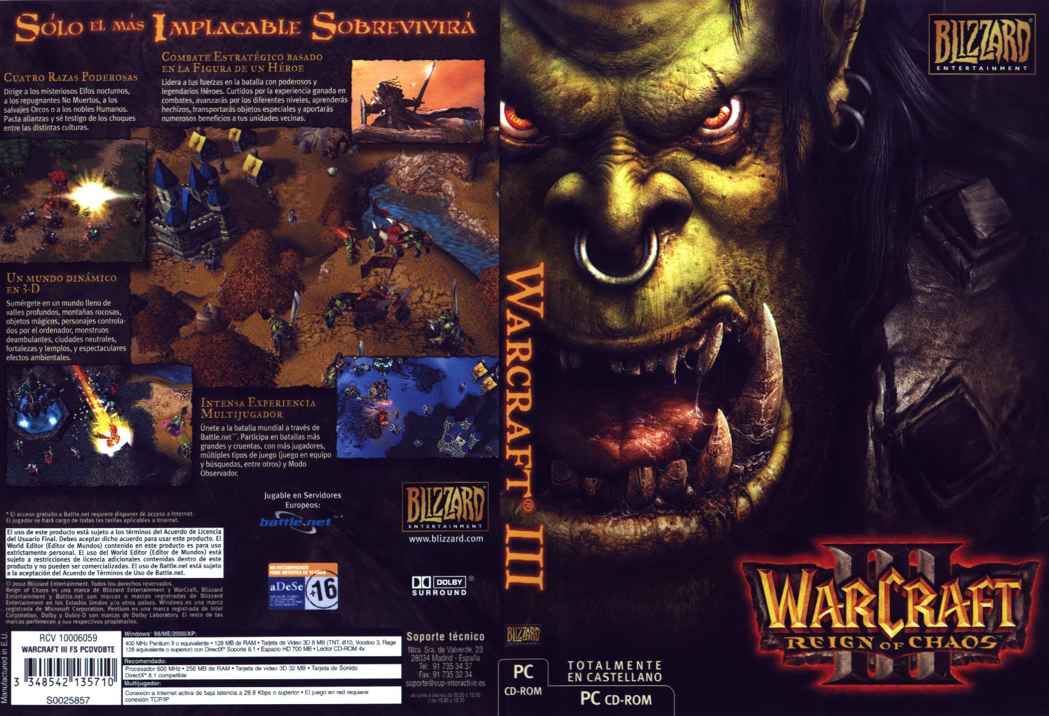 descargar warcraft 3 para pc