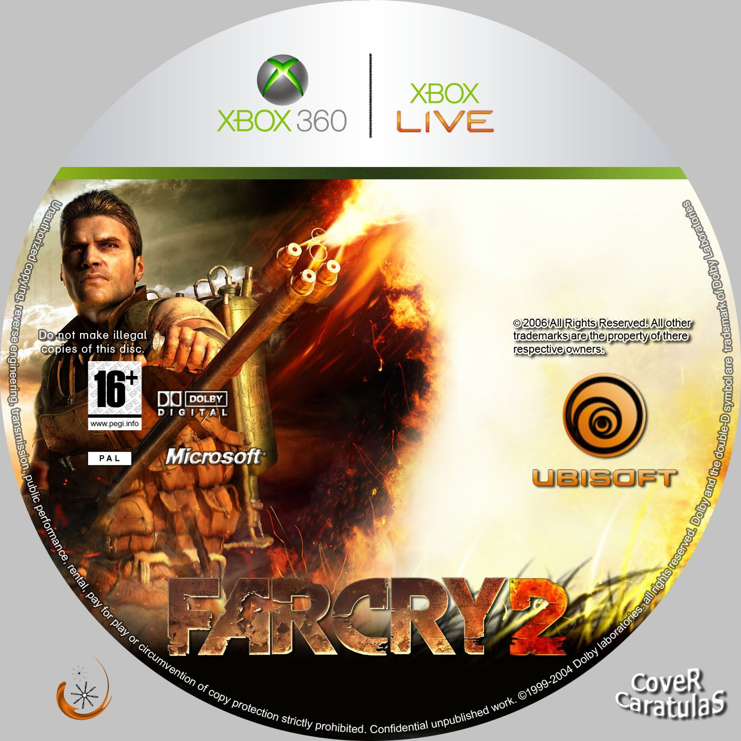 All In One Farcry 2 Xbox360 Pc